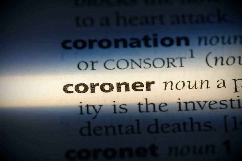 expert witness in the coroner's court